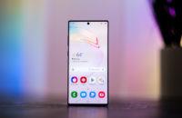 Samsung Galaxy Note 10 Plus screen head on 1