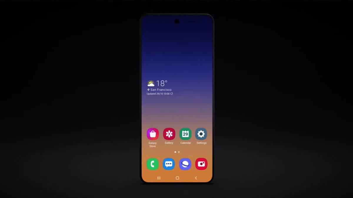 new samsung galaxy foldable smartphone flip phone samsung developer conference 2019 1