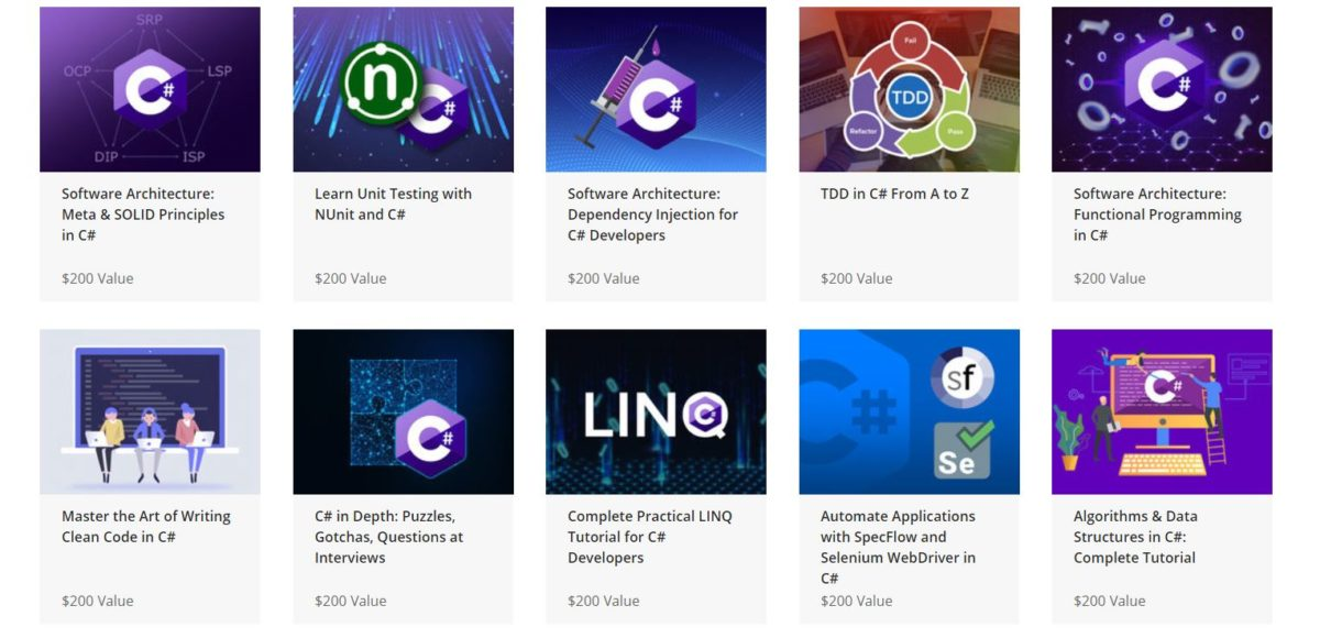 The Complete Net and C Sharp Developer Certification Bundle