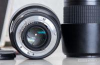 Camera lens showing shutter