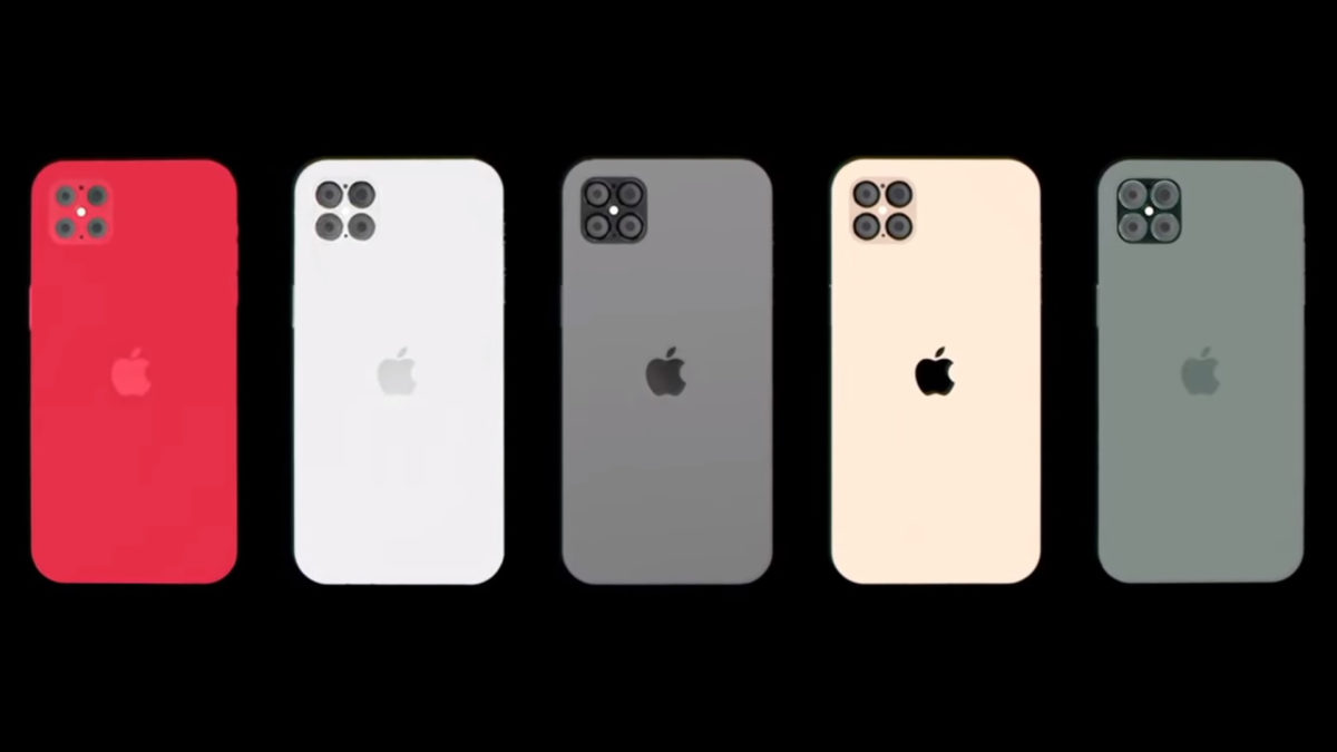 iPhone 12 Concept Images