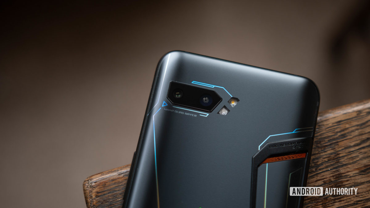 ROG Phone 2 Rear shot of camera bump