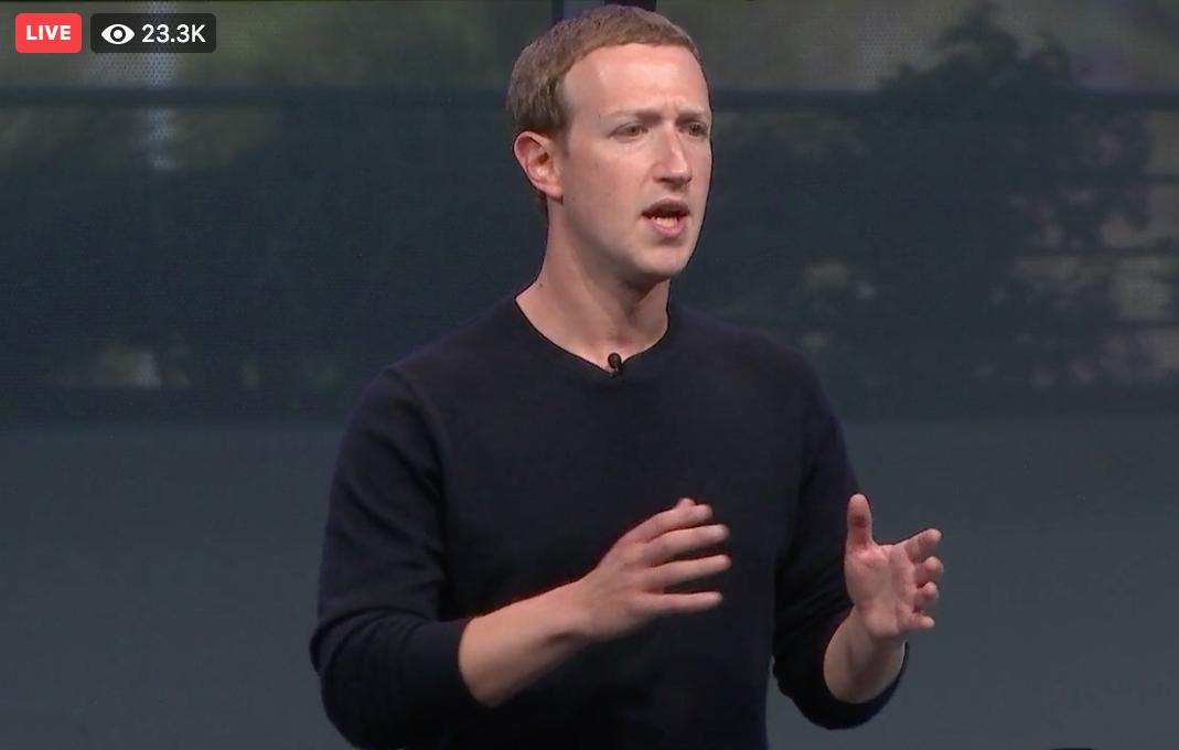 Zuckerberg Live QA