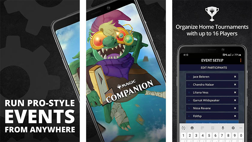 Magic The Gathering Companion is one of the best magic the gathering apps