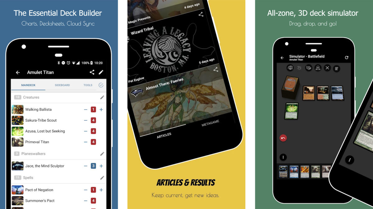 TopDecked MTG screenshot for the best magic the gathering apps list