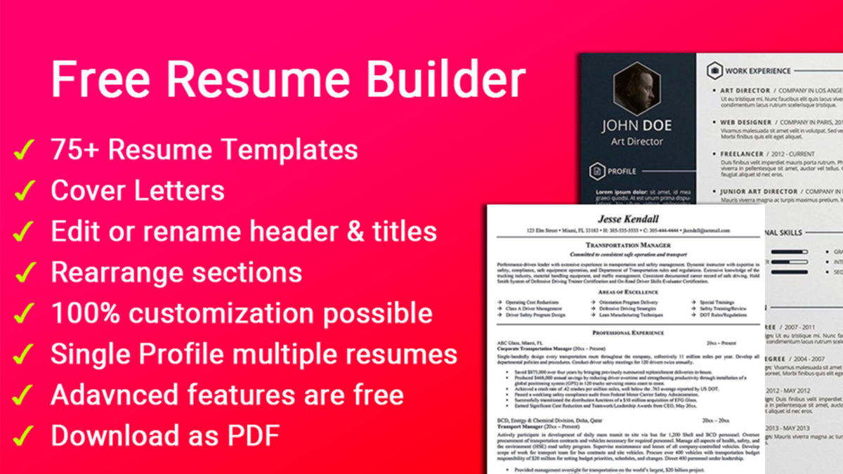 Aristoz Resume Builder Free screenshot