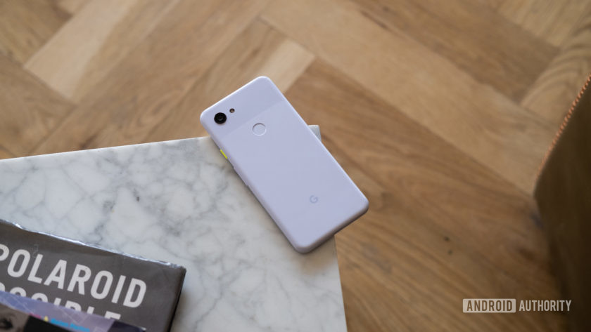 The Pixel 3a lacks water resistance, but hopefully the Pixel 4a changes things.