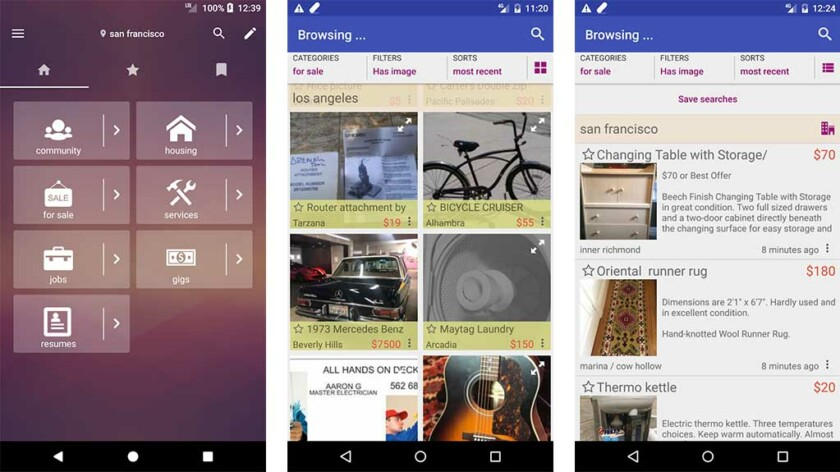 CPlus - best craigslist apps for android