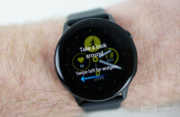 Samsung Galaxy Watch Active tutorial screen