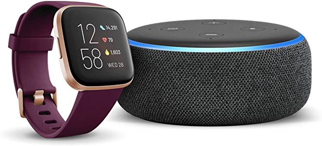 Amazon Echo with Fitbit Versa