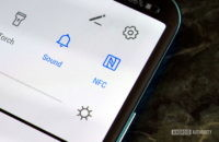 NFC toggle button Android menu