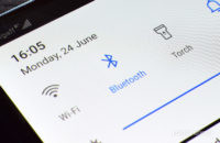 Android Bluetooth Notification Menu Icon