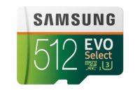 samsung evo select 512