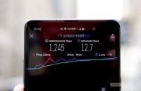 Samsung Galaxy S10 5G Verizon Wireless 1245Gbps