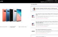 Samsung Galaxy S10 deal Samsung Store