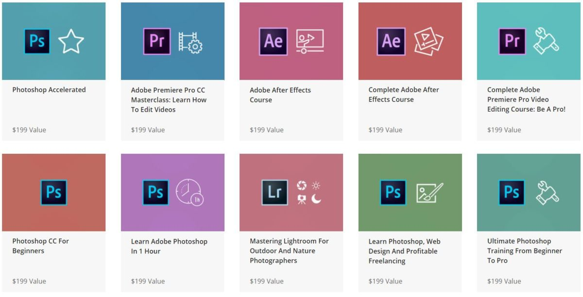 The Complete Adobe Mastery Bundle