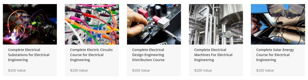 The Ultimate Electrical Engineering Masterclass Bundle