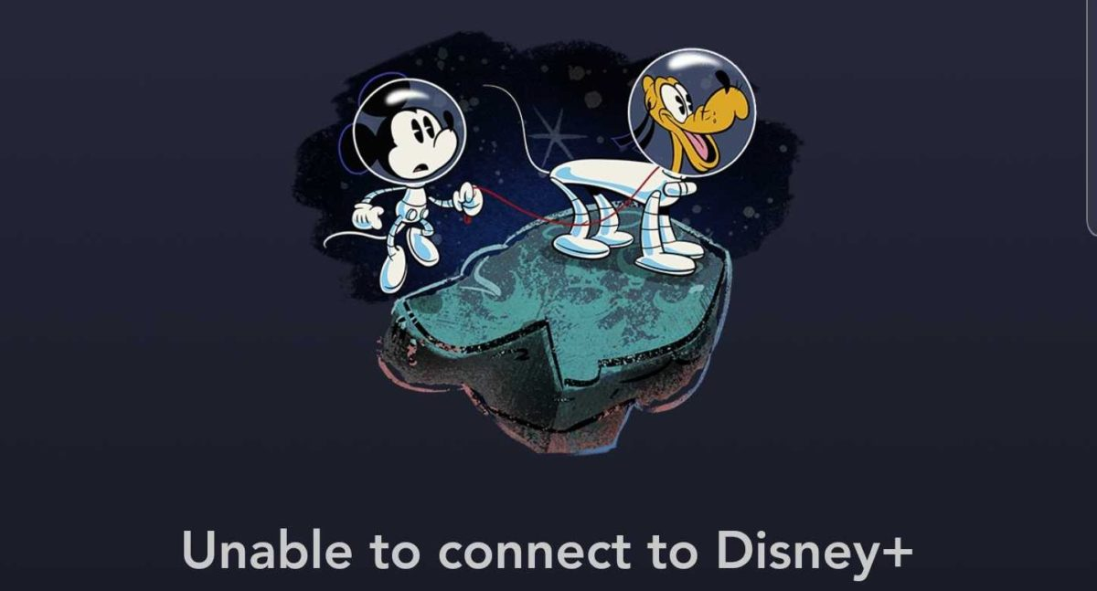 disney plus down