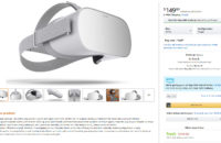 The Oculus Go on Amazon.