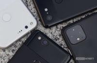 Google Pixel camera cluster closeup
