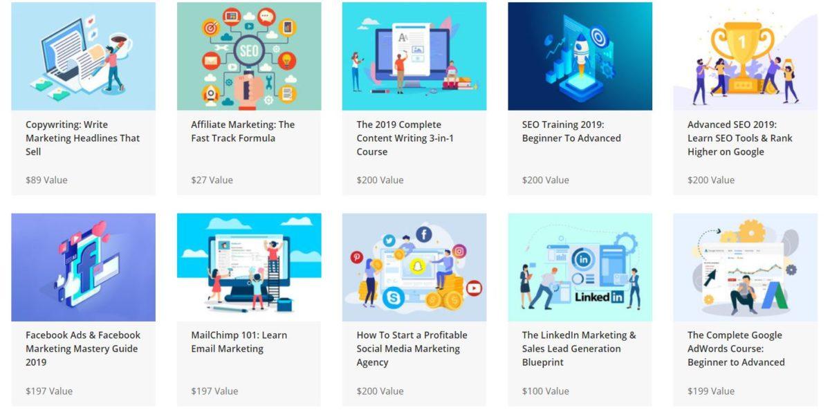 The Complete SEO and Digital Mega Marketing Bundle