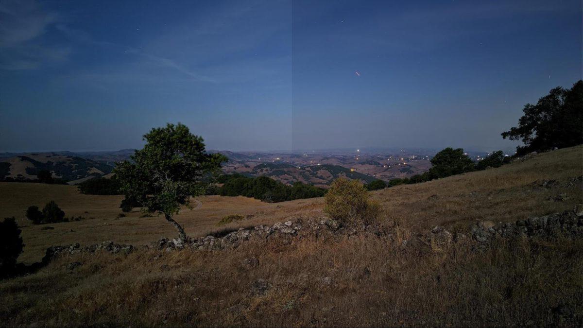 google low light sky detection