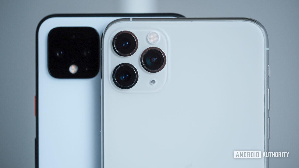 Pixel 4 XL vs iPhone 11 Pro Max cameras