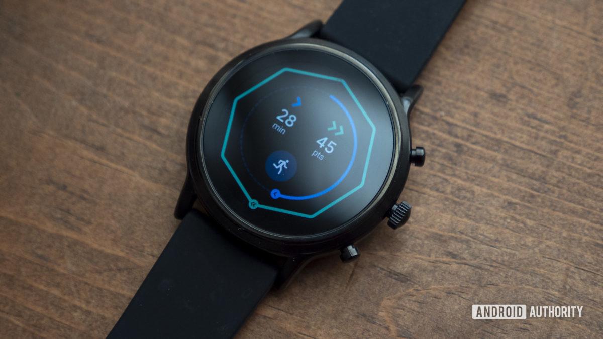 fossil gen 5 smartwatch review google fit