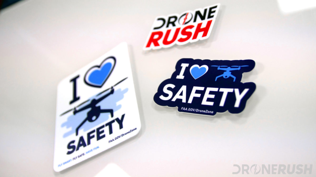 Drone Rush FAA love drone safety