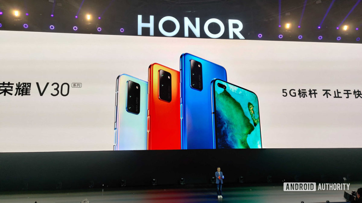 The Honor View 30 series.