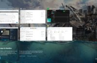 Windows Timeline activity history page screenshot