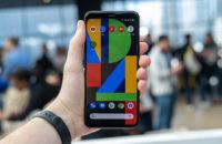 Pixel 4 XL Screen in hand 1