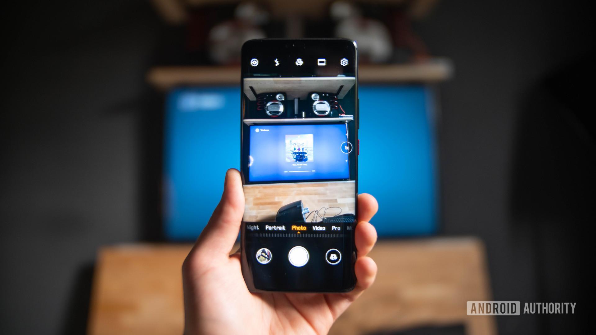 Huawei Mate 20 Pro camera app