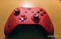 Xbox One wireless controller on a table