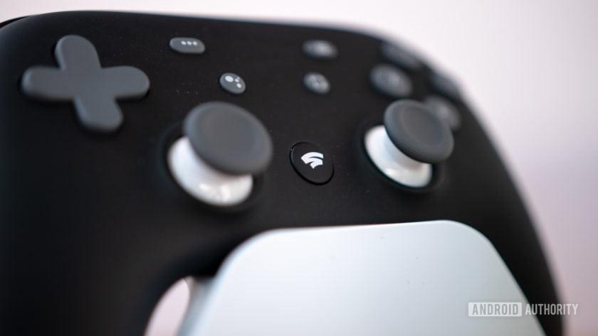 Google Stadia Black Controller Logo
