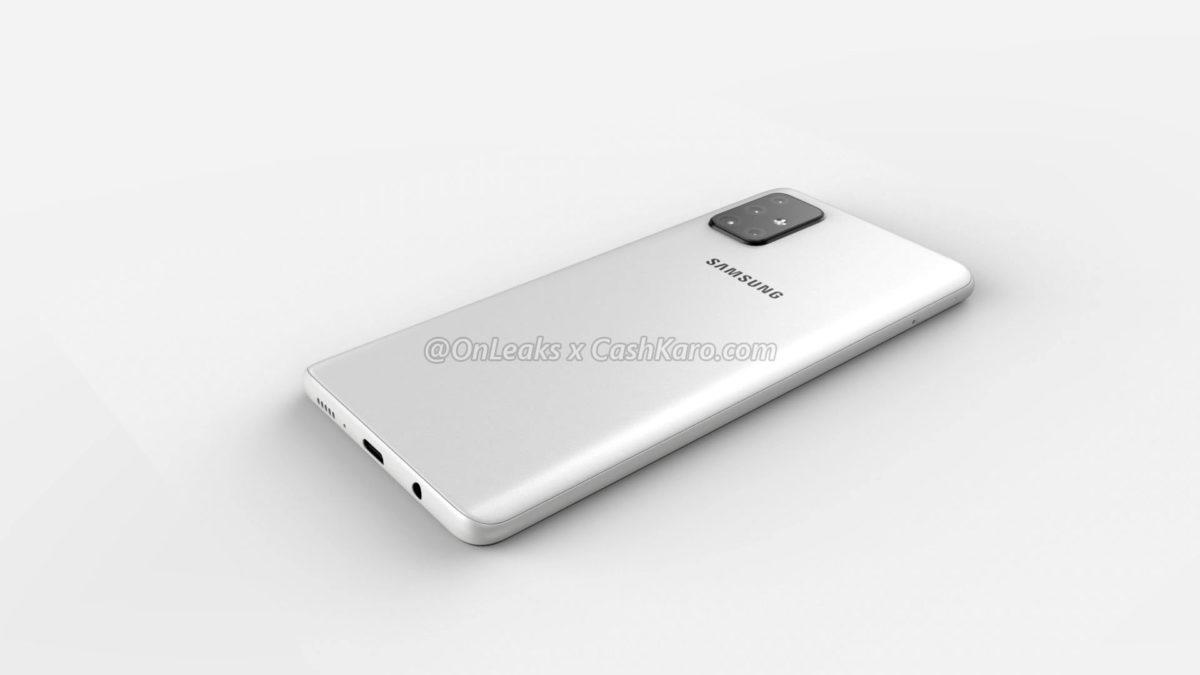Samsung Galaxy A71 leak 2