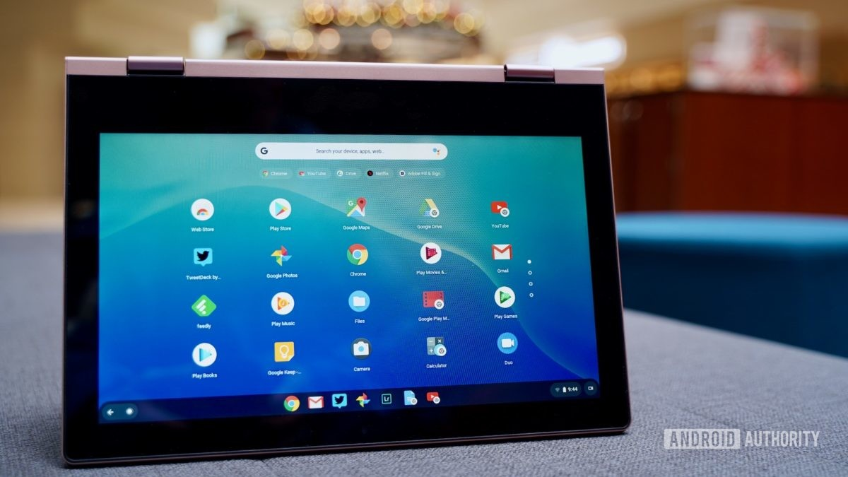 Lenovo Chromebook C340 review tent profile