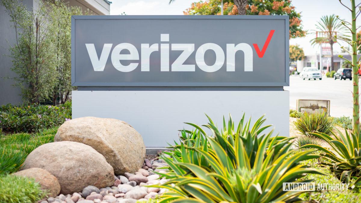 Verizon Wireless logo stock image 7