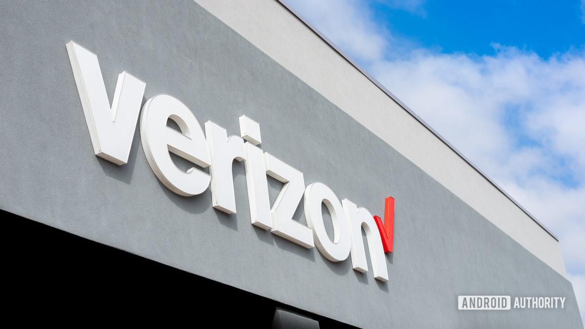 Verizon Wireless logo stock image 1