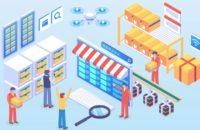 Amazon Online Marketplace Graphic