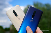 OnePlus 7 Pro nebula blue and almond colors