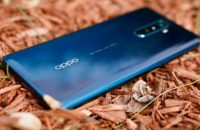 Oppo Reno Ace review nestled on mulch