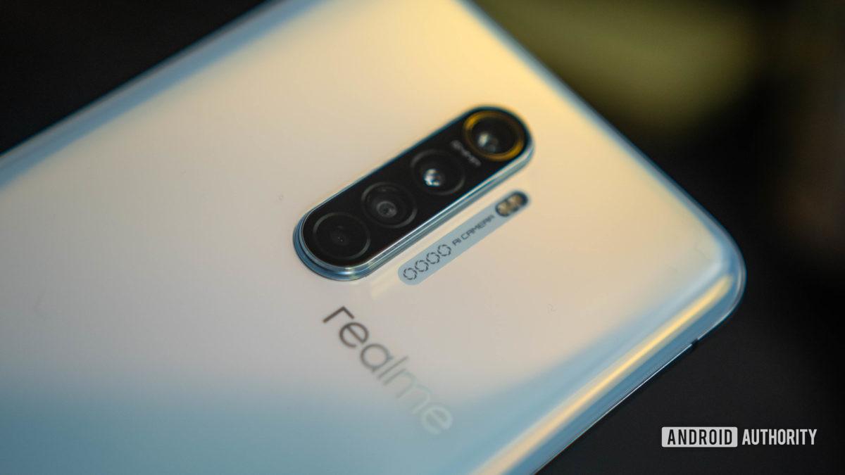 Realme X2 Pro rear quad camera assembly