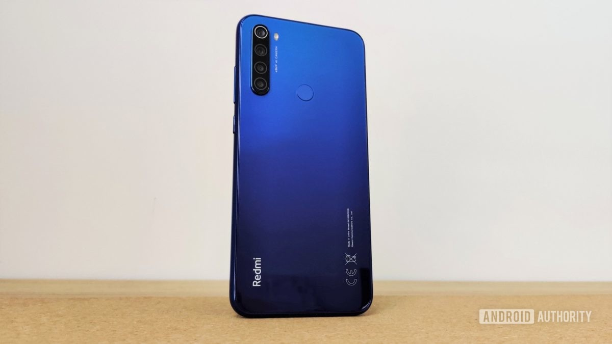 Redmi Note 8T review back
