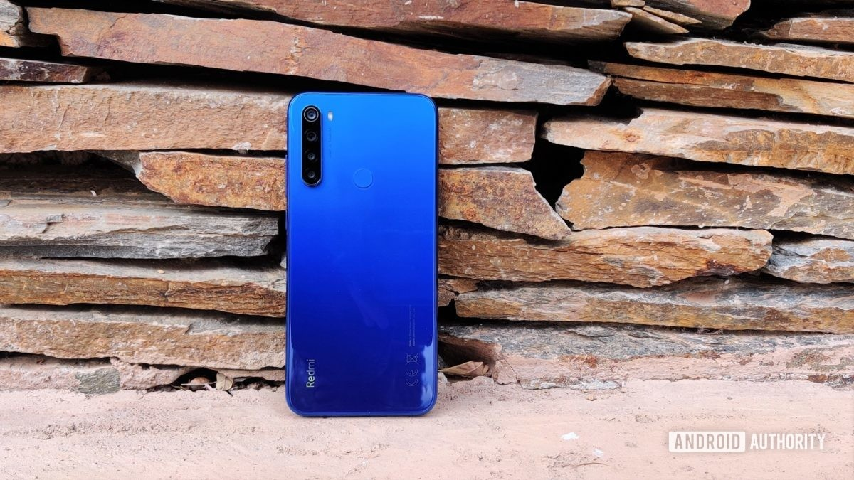 Redmi Note 8T back outdoor