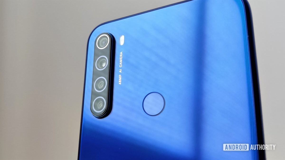 Redmi Note 8T review camera module