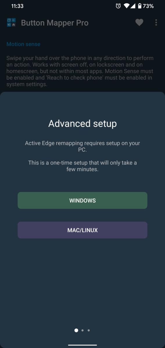 Button Mapper Remap Motion Sense Gestures ADB Commands 1