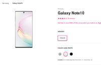 Samsung Galaxy Note 10 T Mobile holiday BOGO