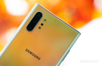 Samsung Galaxy Note 10 Plus back cameras and logo 1