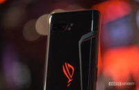 Asus ROG Phone 2 rear ROG logo vent and camera